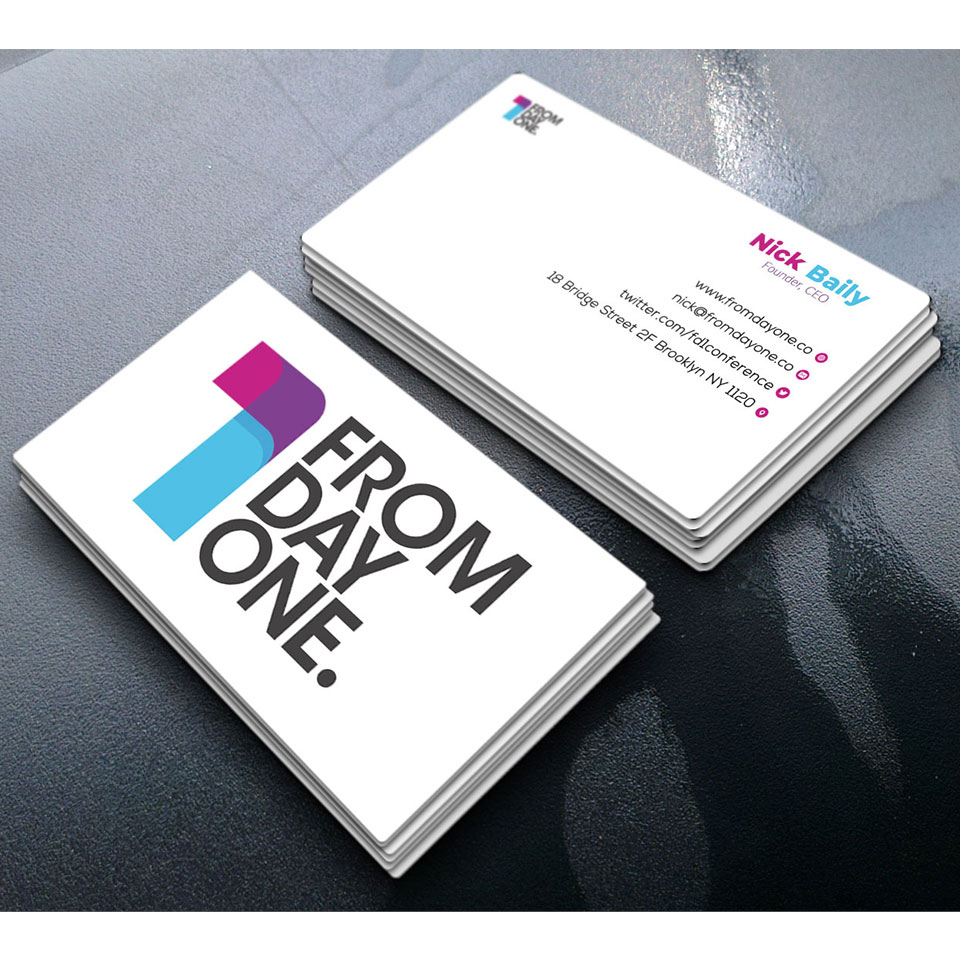 I will do professional double sided corporate business card