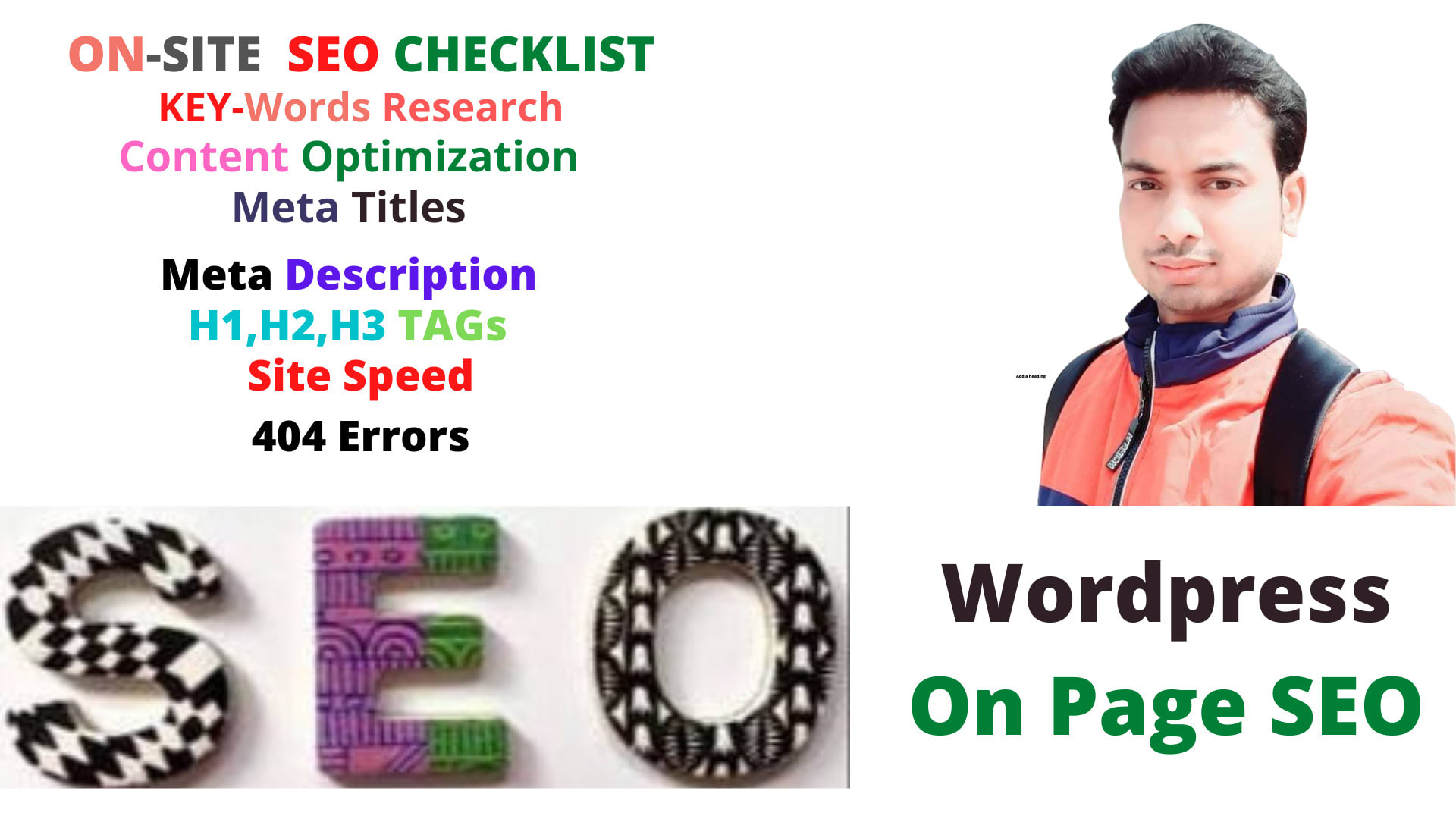 I will do professional on page SEO and WordPress site ranking