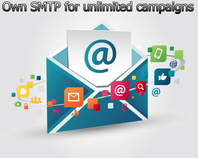 I will create Postal SMTP server and send unlimited emails