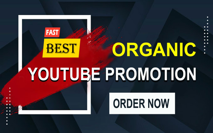 I will do 200 organic youtube video promotion by SEO backlinks