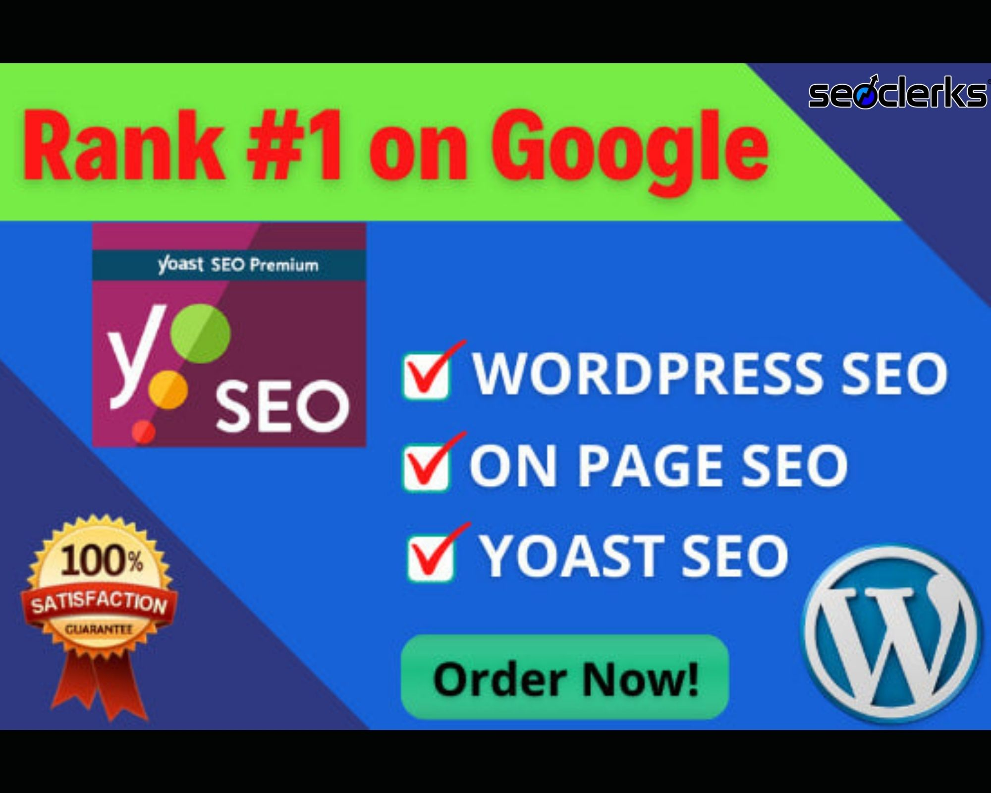 I will do yoast on page SEO and technical optimization of wordpress site