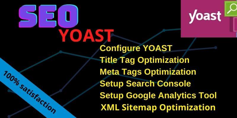 i will do install & full optimization wordpress onpage seo in yoast plugin