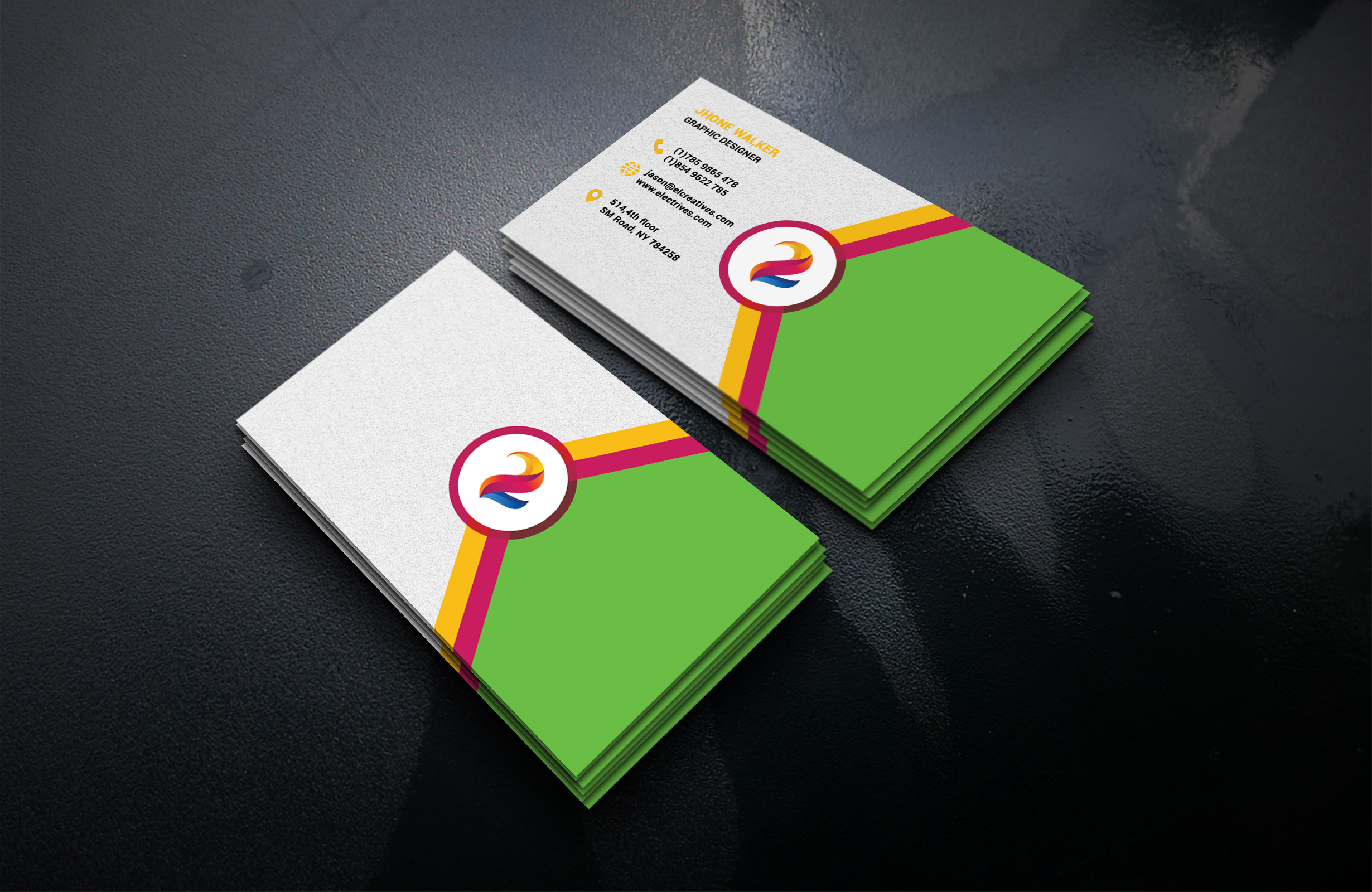 I will design business card professionally.