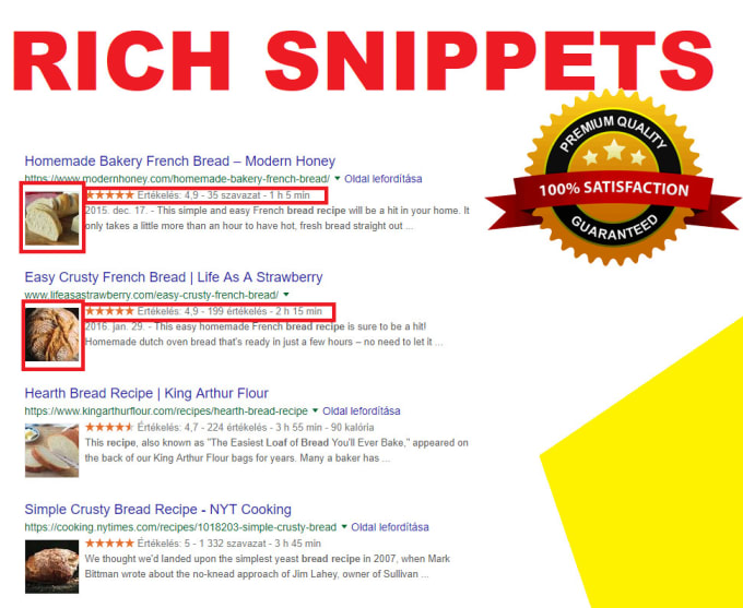 I will do schema markup, star rating for website rank high on google search