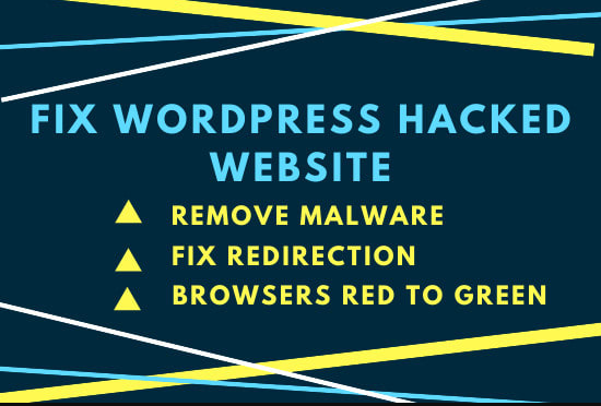 I will remove malware,  virus from website and fix redirecting issues in 24 hour