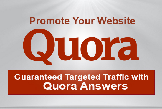 Guaranteed Targeted Traffic With 30 Quora Answer