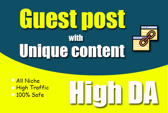 I will rank your site by guaranteed SEO through high da 1 guest post