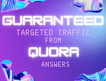 Guaranteed Targeted Traffic from 50 High Quality Quora Answers