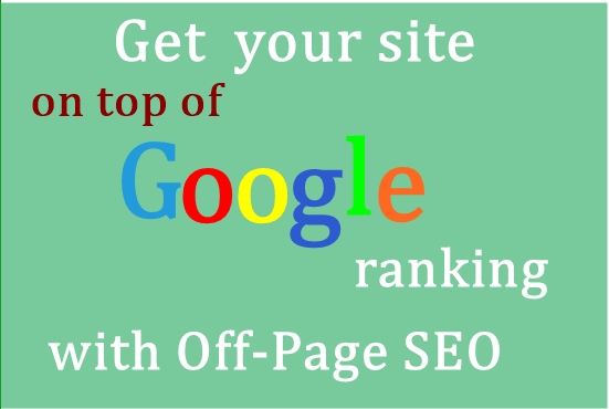 Rank Your Site at Google 1st Page with Off Page SEO
