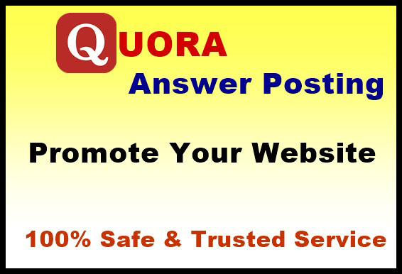 Offered Targeted Traffic with 20 High Quality Quora Answers