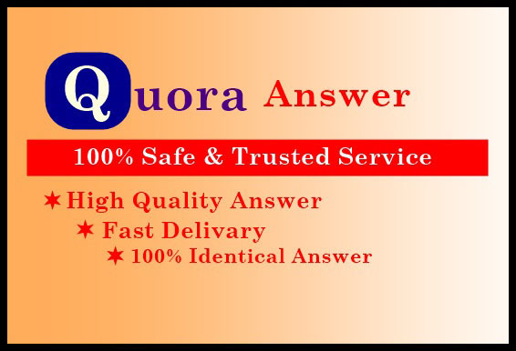 Offered HQ traffic with 30 Quora Answers