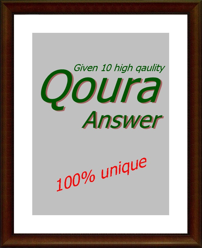 Promote your website with 10 Quora Answers with guranteed traffic