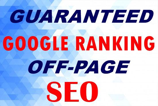 Provide Guaranteed Google 1st Page Ranking SEO service
