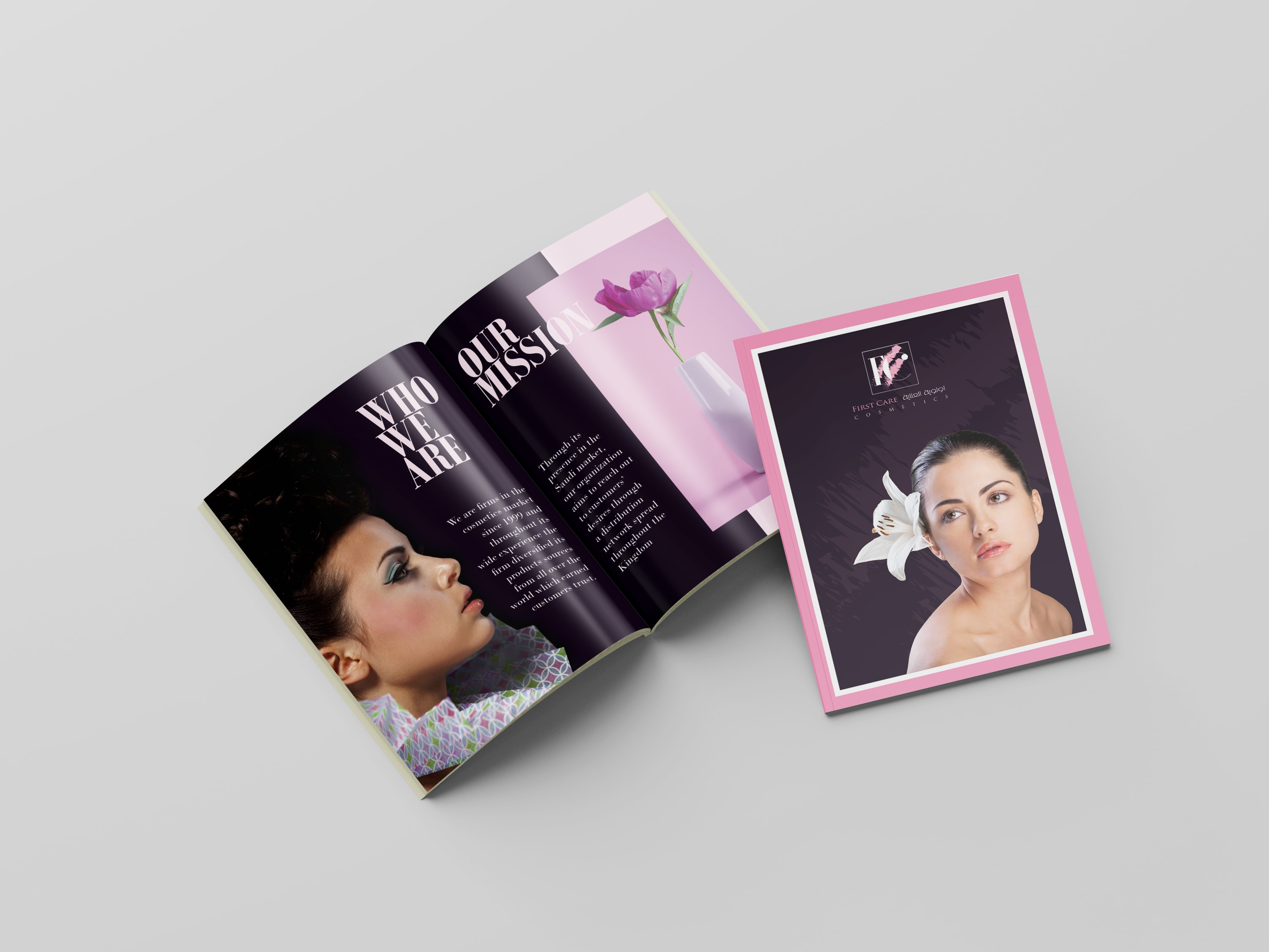 I will create minimal and luxury brochure design,  Flyer and Poster Design