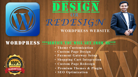 I will design your professional responsive website