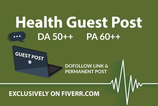 submit health guest post on da 50 plus website