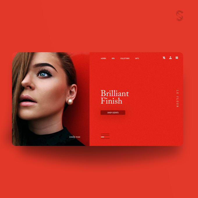 I will create landing page that is modern creative and responsive.
