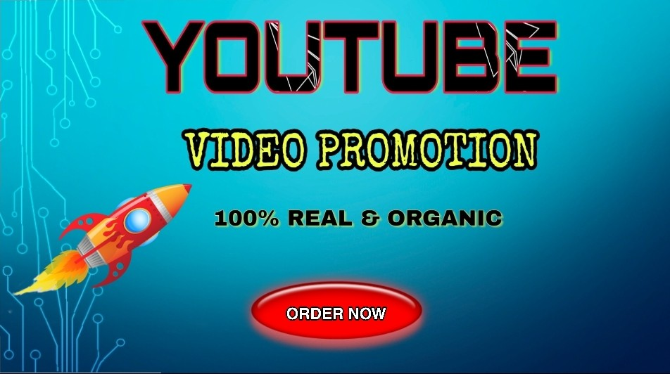 Promote your YouTube video to increase your performance very fast for 1
