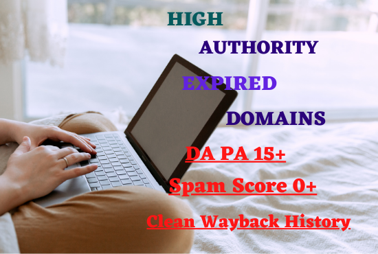 I will provide you with 5 quality expired domains