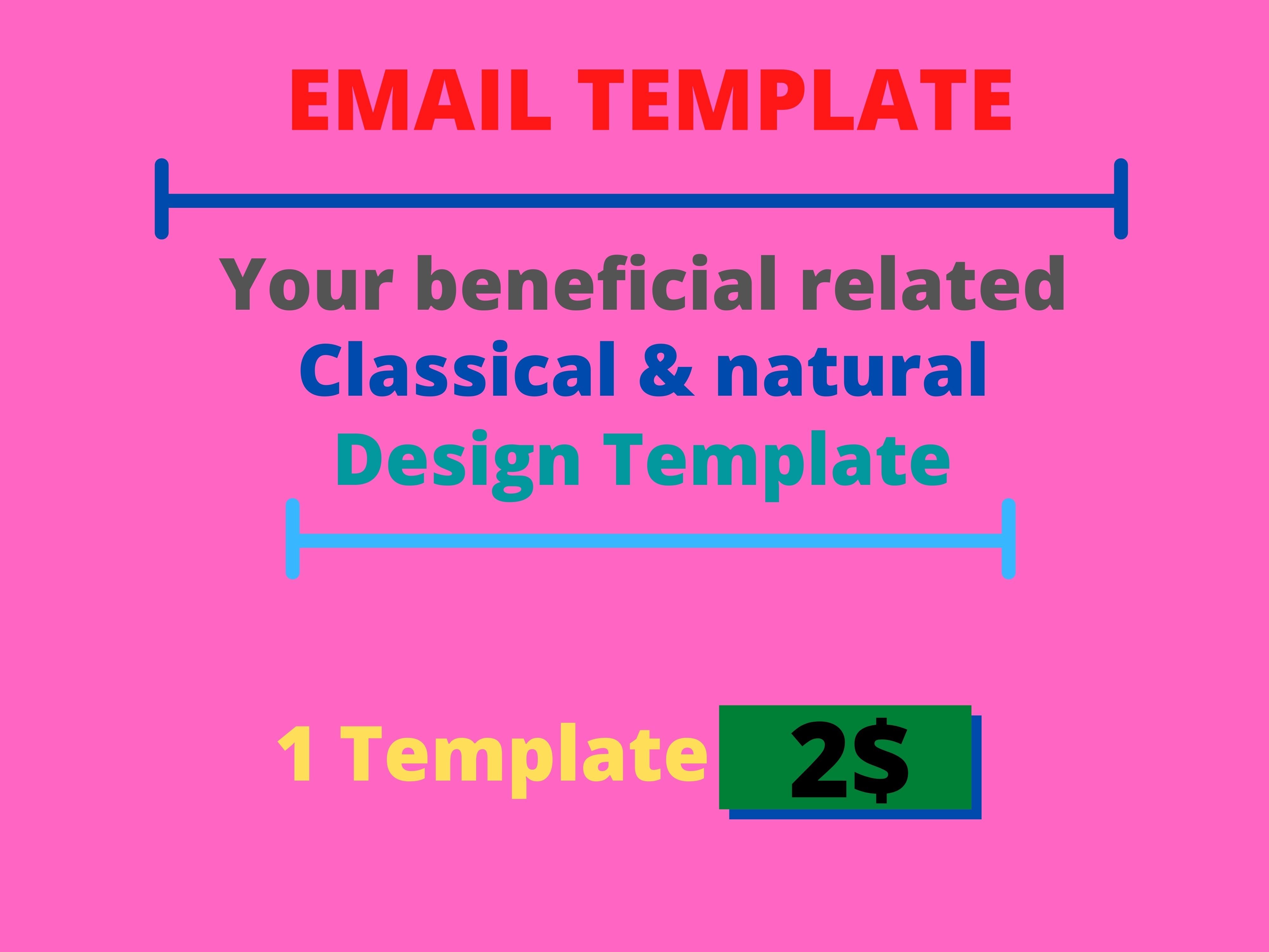I will present you beneficial,  Classic & natural Design Template.