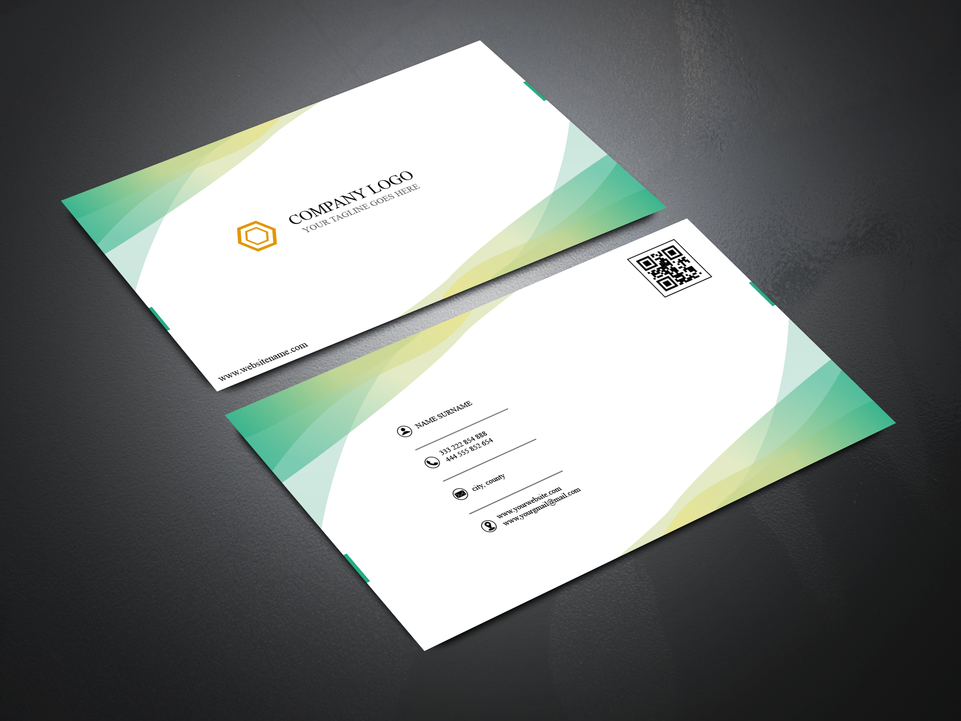 I will do professional business card design for you within short times