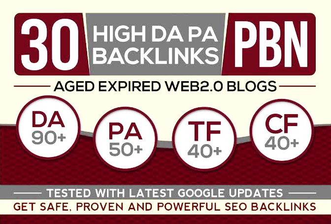 Fabricate 30+ Backlink with high DA30+ PA 40+,  DOFOLLOW with 20+ Unique websitelink