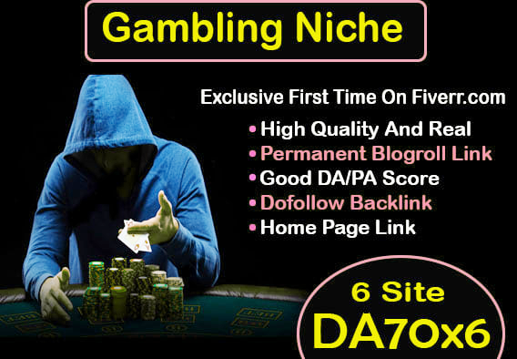 60 CASINO/POKER Gambling,  Judi Bola,  Relate PBN Backlink with BLOG POST And Google first Page Rankin