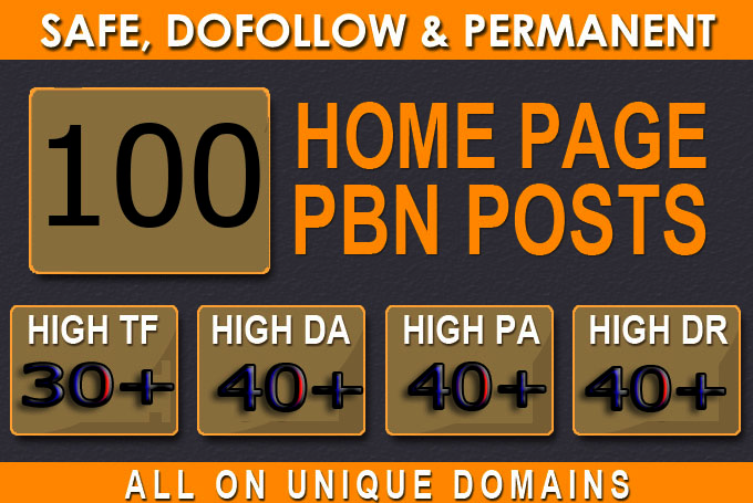 Manufacture Primium 100+ Backlink with DA 40+ PA 40+,  DOFOLLOW in your site with 100+ extraordinary