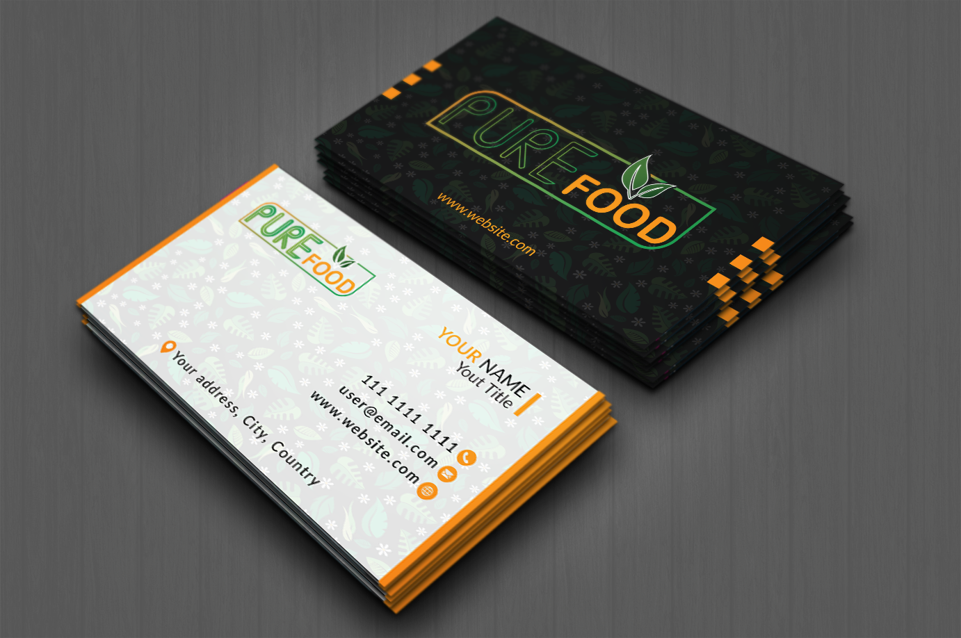 Get an outstanding business card for you