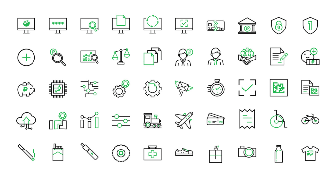 Design 5 Custom icon set within 6 hour
