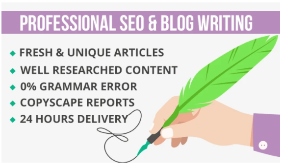 I will do SEO article writing in 24 hours