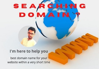 I will research best domain name for you