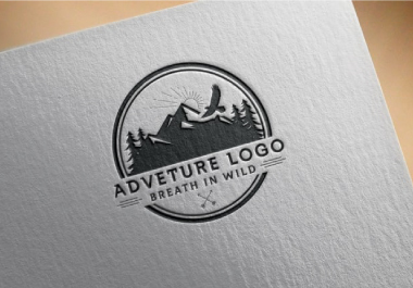 i will create a perfect vintage logo for your brand