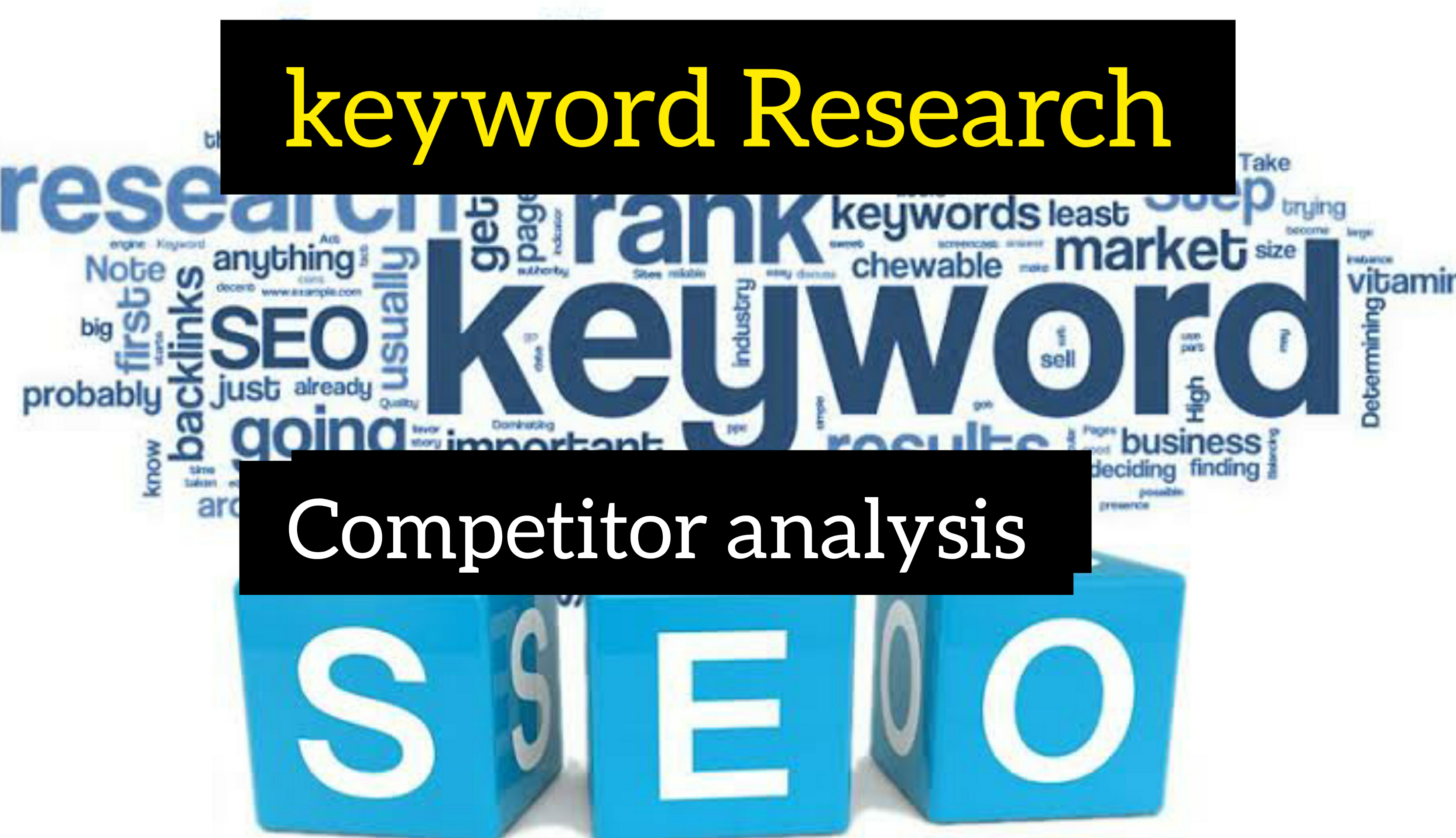 I will do the excellent 20 SEO keyword research and 1 competitor analysis