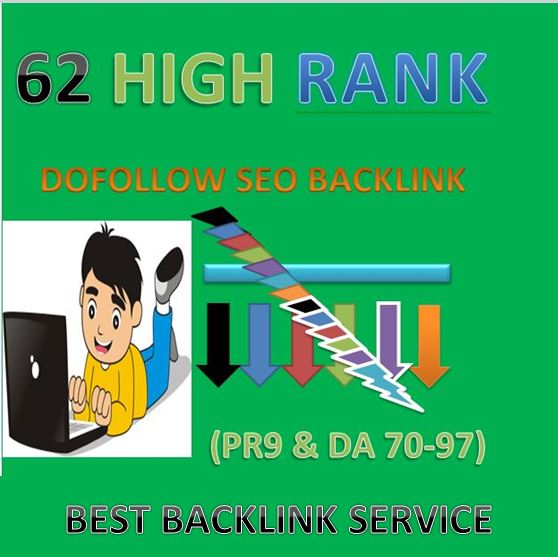 I will build high authority da 70 to 97 seo dofollow backlink and link building.