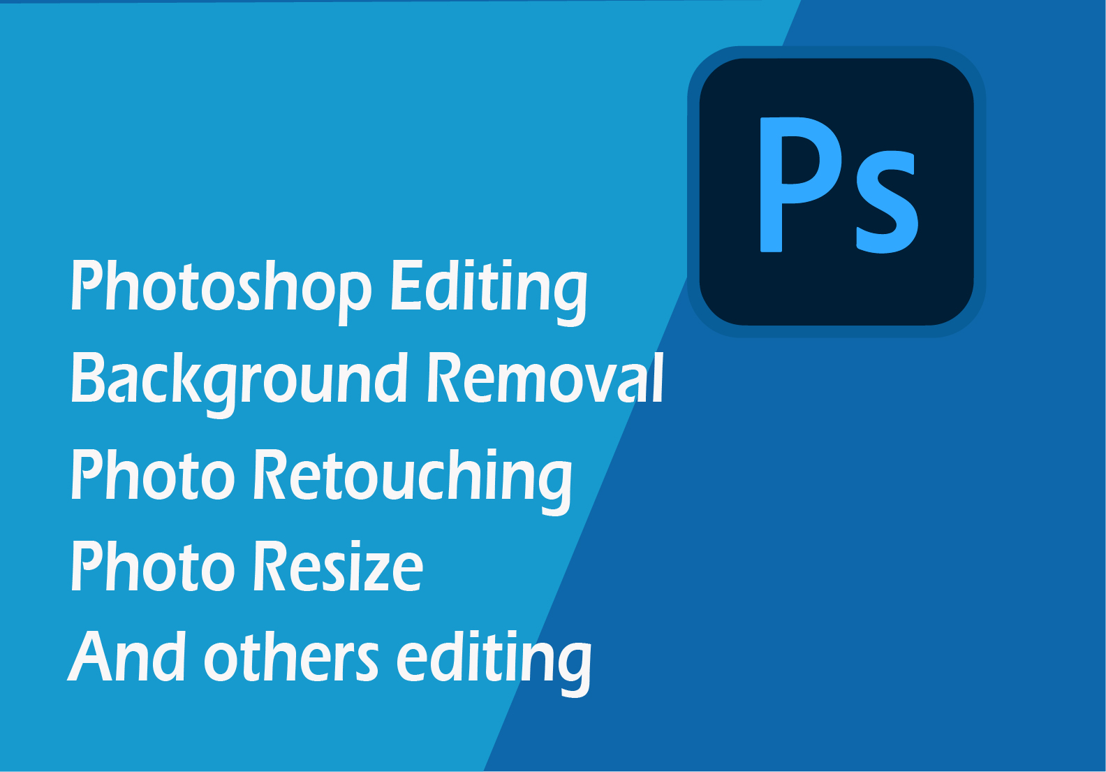 I will do Background remove and others photoshop editing
