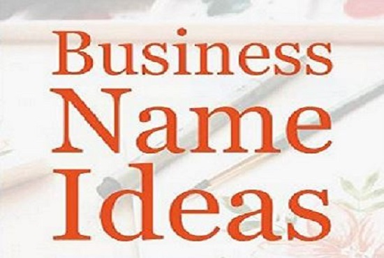 I will create 10 original and simple business name ideas for you