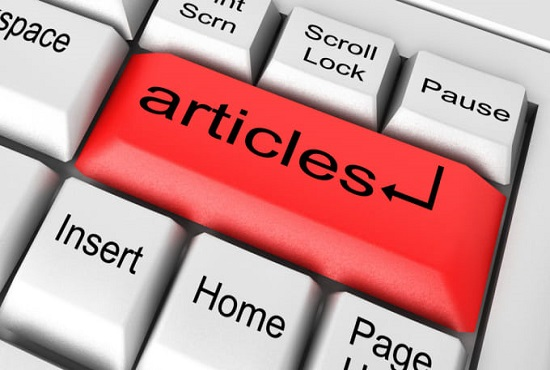 I will write SEO articles for your website or blog or rewrite articles