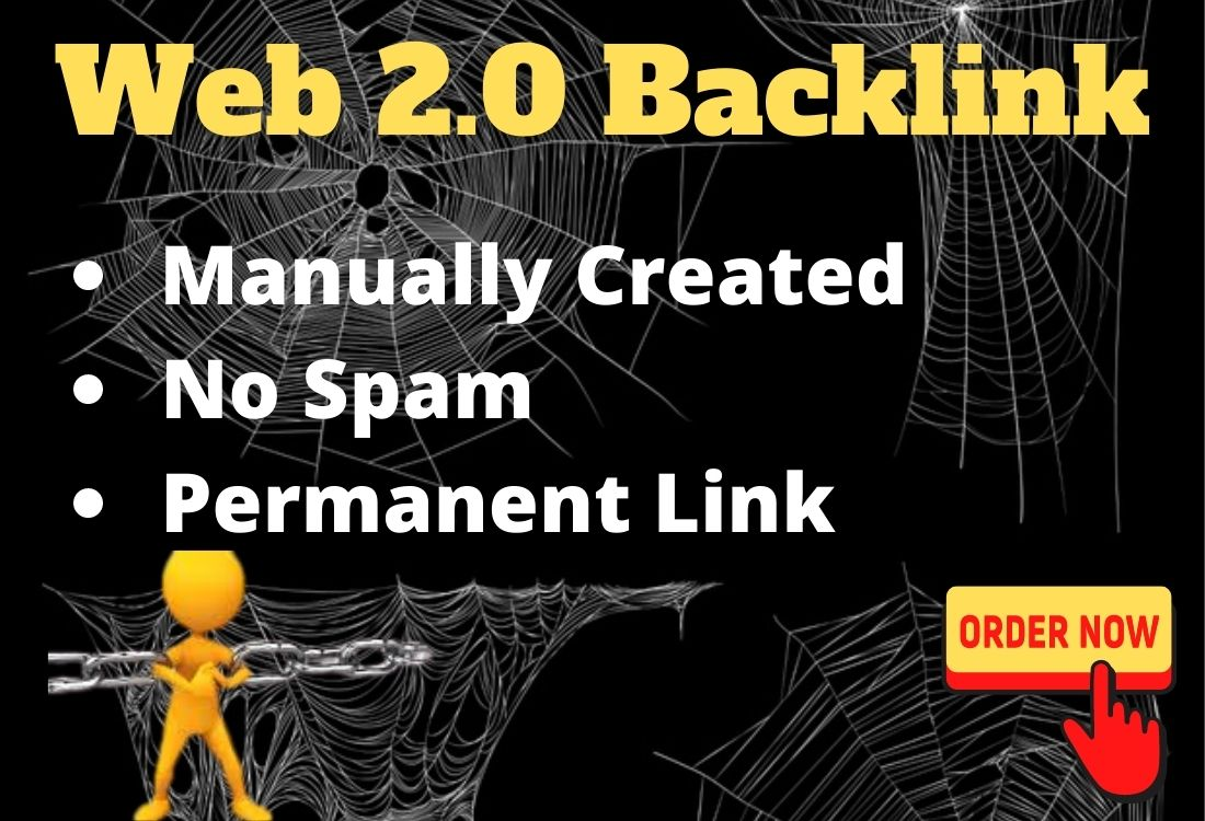 I will create manually 25 high authority Web 2.0 Backlinks to boost your site