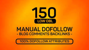i will provide 150 blog comments high da pa backlink