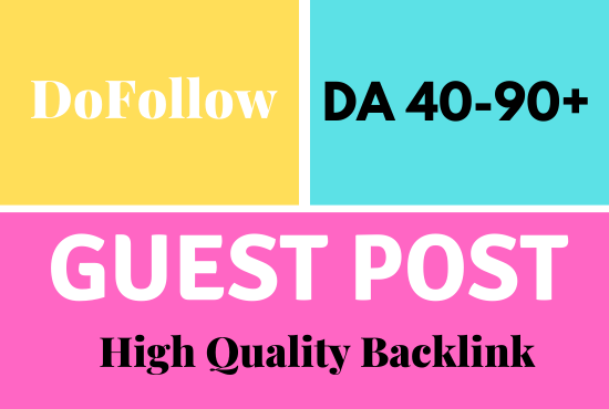 I will guest posts on HQ websites