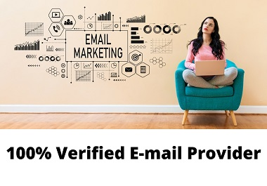 I will provide you 1500+ verified emails for marketing