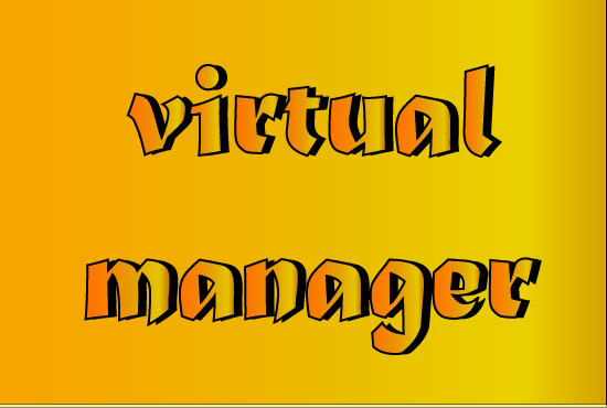 I will be your full time virtual manager