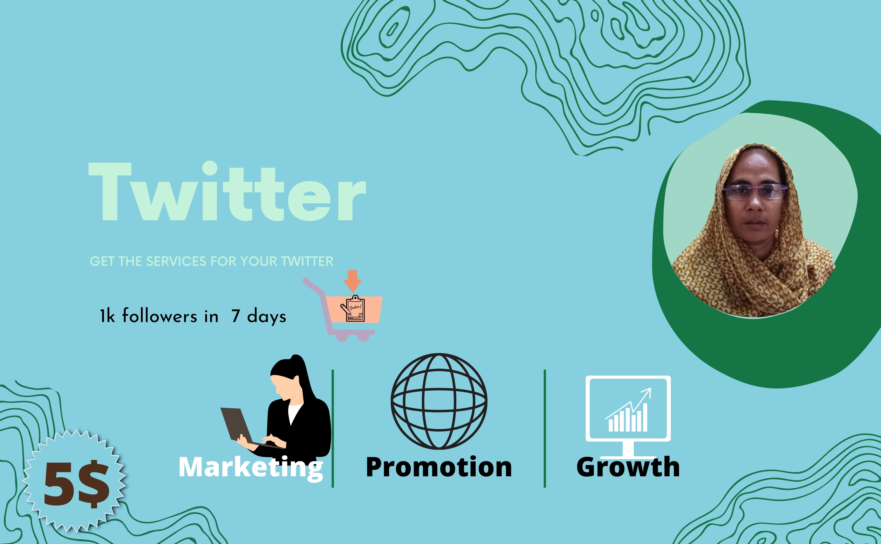I will promote your Twitter account & products