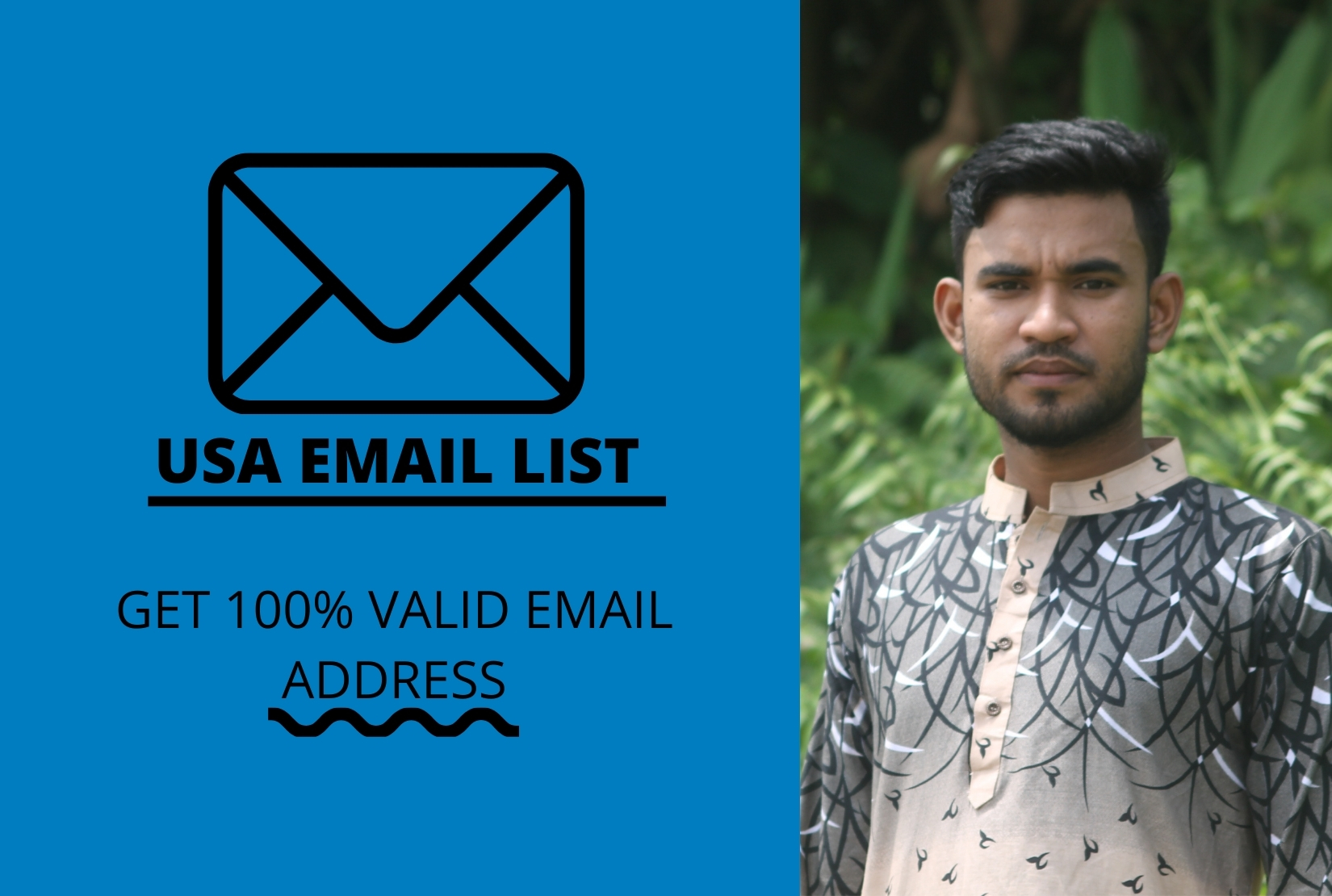 I will be collect 6k targeted bulk email lists