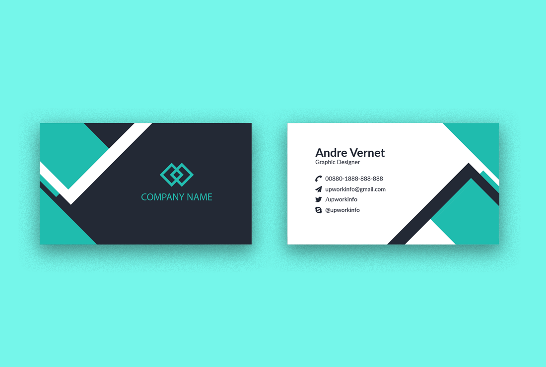I will do Professional Business Card Design 2 sided