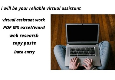 i will be your reliable virtual assistant.