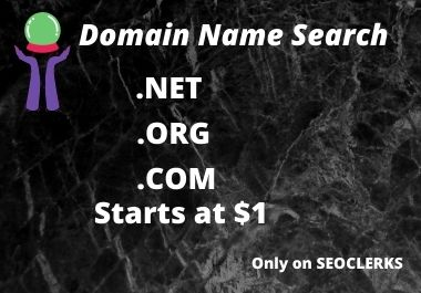 I will search all domain for you
