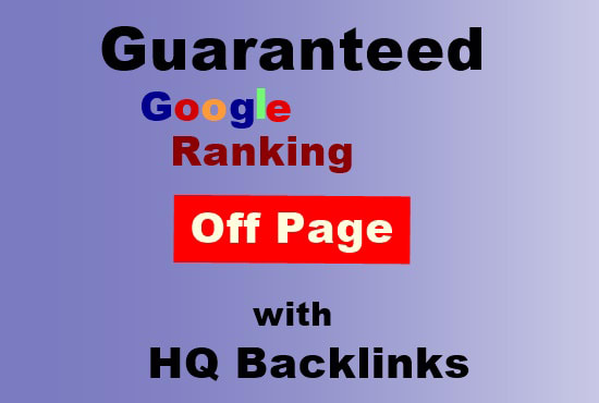 offer Grunted Google 1st page ranking SEO Service