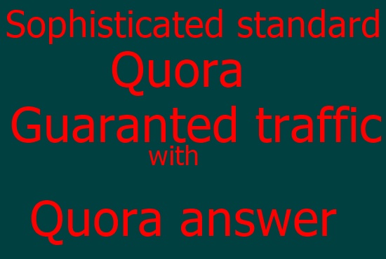 progressive and Sophisticated answering 20 question with Quora